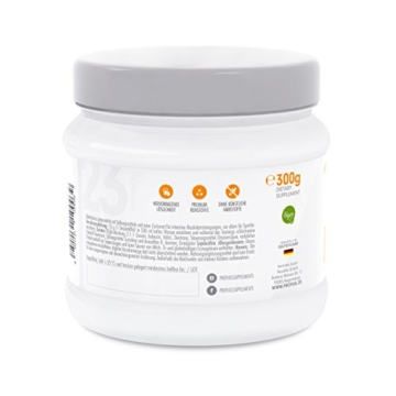 BCAA Pulver (Aminosäuren) sensationeller Geschmack | Aminos 2:1:1 (Leucin, Isoleucin, Valin) Hochdosiert, Vegan | Für Muskelaufbau, Abnehmen & Sport | PROFUEL Alphaminos 300g - KIRSCHE - 8