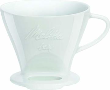 Melitta 219025 Filter Porzellan Kaffeefilter Größe 1x4 Weiß - 1