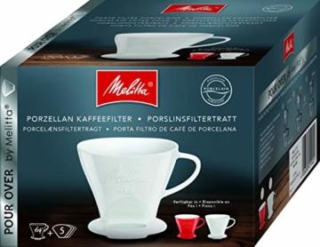 Melitta 219025 Filter Porzellan Kaffeefilter Größe 1x4 Weiß - 2