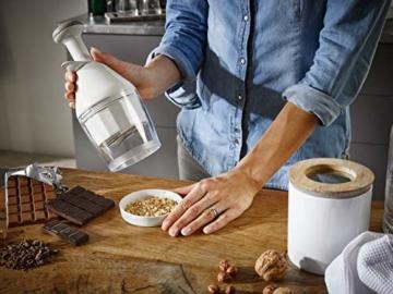 Leifheit Hacker Comfort und Clean für leichtes Zerkleinern von Lebensmitteln, Zerkleinerer mit Drehautomatik, Zwiebel Zerkleinerer in praktischem Design, ComfortLine-Serie - 2