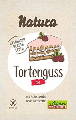 Natura Tortenguss rot 3er-Pack, 39 g - 1