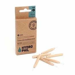 Hydrophil Nachhaltige Interdentalbürsten aus Bambus – verschiedene Grössen - 1