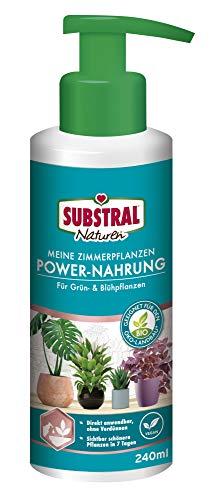 Substral Naturen Meine Zimmerpflanzen Power Nahrung, Veganer rein pflanzlicher Bio-Flüssigdünger, 240 ml - 1