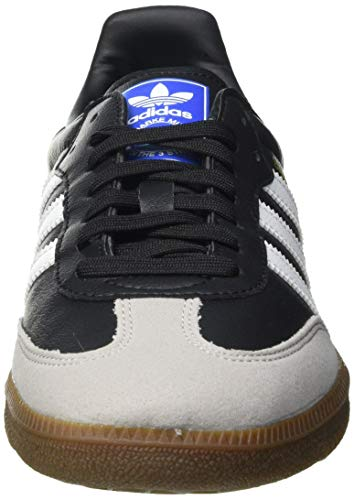 adidas Herren Samba Vegan Sneaker, Cloud White/Core Black/Gum, 45 1/3 EU - 2