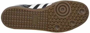 adidas Herren Samba Vegan Sneaker, Cloud White/Core Black/Gum, 45 1/3 EU - 4